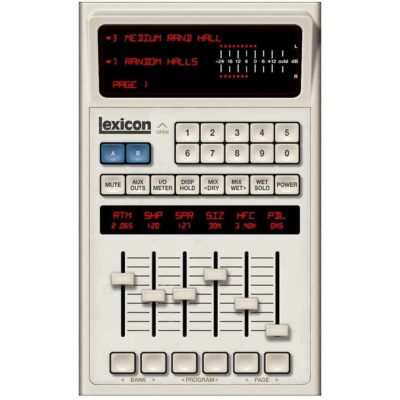 Universal Audio Lexicon 480L Test